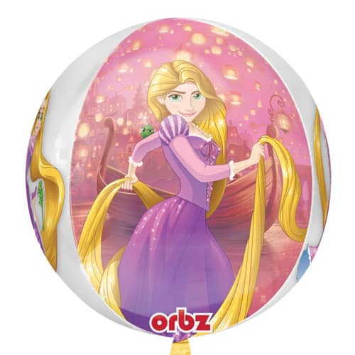 Rapunzel Designs Orbz Foil Helium Balloon 38cm / 15 in Product Image