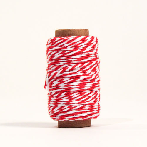 Red & White Christmas Elf String 30m Product Image
