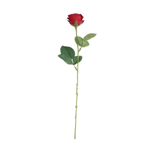 Red Buckingham Rose Artificial Silk Flower 40cm Product Gallery Image