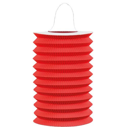 Red Hanging Paper Lantern 15cm Product Image