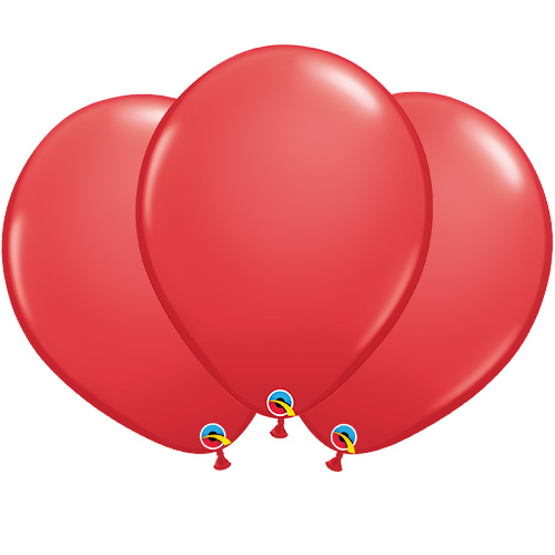 Red Latex Qualatex Balloons 40cm / 16 in - Pack of 50 Product Image