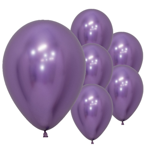 Reflex Purple Biodegradable Latex Balloons 30cm / 12 in - Pack of 50 Product Image