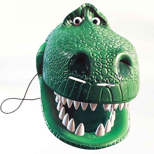 Rex Toy Story 4 Cardboard Face Mask Product Image