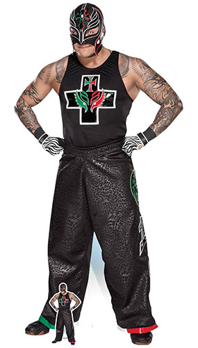 Rey Mysterio Hips WWE Lifesize Cardboard Cutout 169cm Product Image