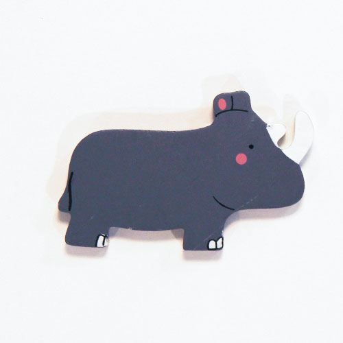 Rhino Wooden Magnetic Toy Product Image