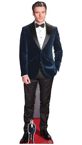 Richard Madden Blue Velvet Jacket Lifesize Cardboard Cutout 179cm Product Image