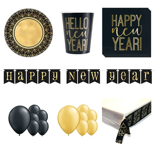 Roaring New Year 16 Person Deluxe Party Pack