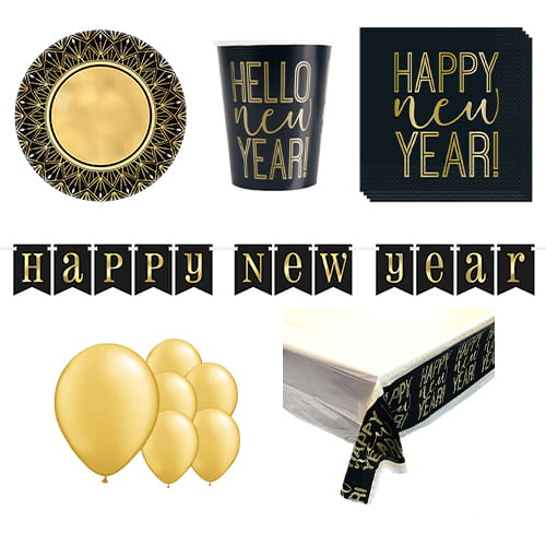Roaring New Year 8 Person Deluxe Party Pack