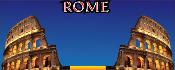 The Colosseum of Rome Design Large Personalised Banner - 10ft x 4ft