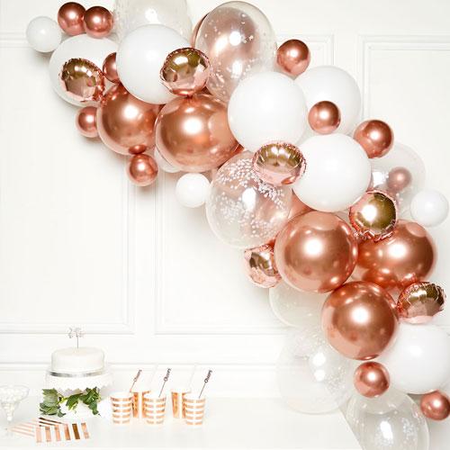 Rose Gold DIY Garland Balloon Arch Kit