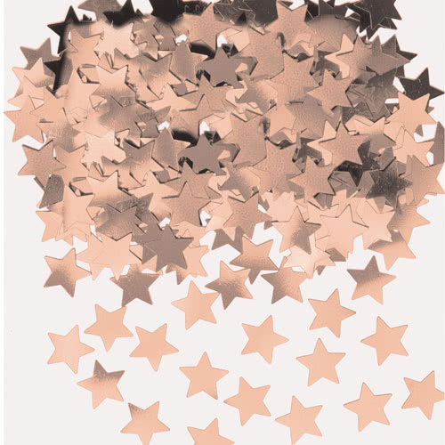 Rose Gold Stardust Table Confetti 14 Grams
