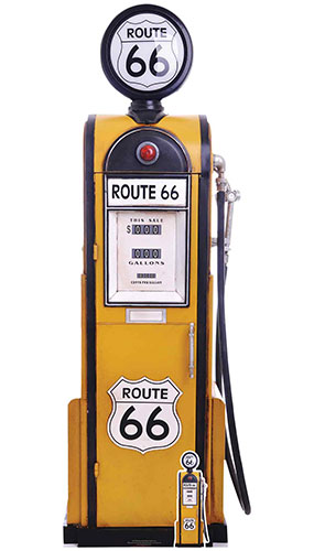 Route 66 Gas Pump Lifesize Cardboard Cutout 194cm Product Image
