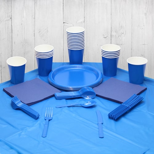Royal Blue 18 Person Party Pack Product Image
