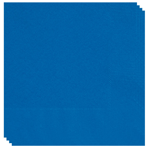 Royal Blue Luncheon Napkins 33cm 2Ply - Pack of 50 Product Image