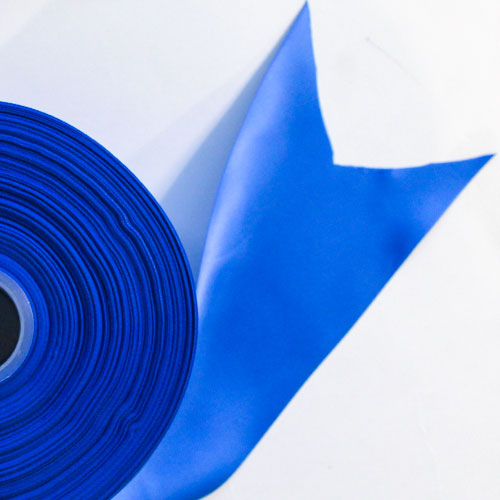 Royal Blue Satin Faced Ribbon Reel 100mm x 91m Product Image