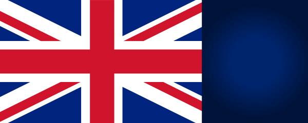 Great Britain Flag Design Medium Personalised Banner - 6ft x 2.25ft