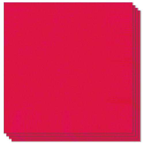 Ruby Red Luncheon Napkins 33cm 2Ply - Pack of 20 Product Image