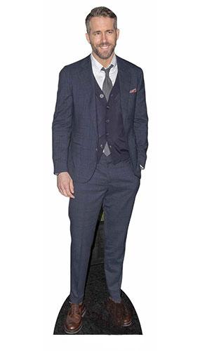 Ryan Reynolds Casual Suit Lifesize Cardboard Cutout 188cm Product Image
