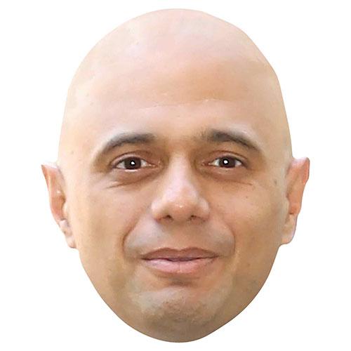 Sajid Javid Cardboard Face Mask