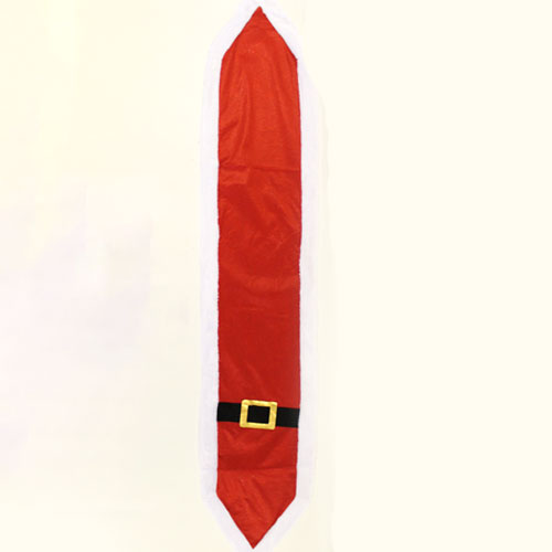 Santa Buckle Design Christmas Table Runner 180cm x 35cm Product Image