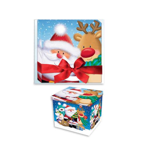 Santa Christmas Eve Box 28cm