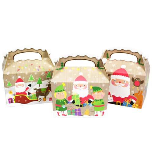 Santa Christmas Party Box