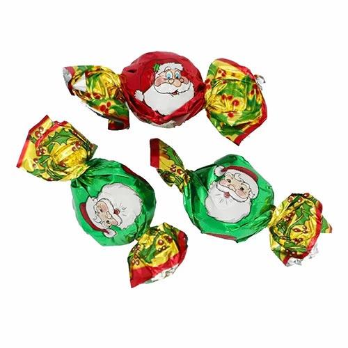 Santa Christmas Milk Chocolate Twist Vegetarian Sweet 10g Product Image