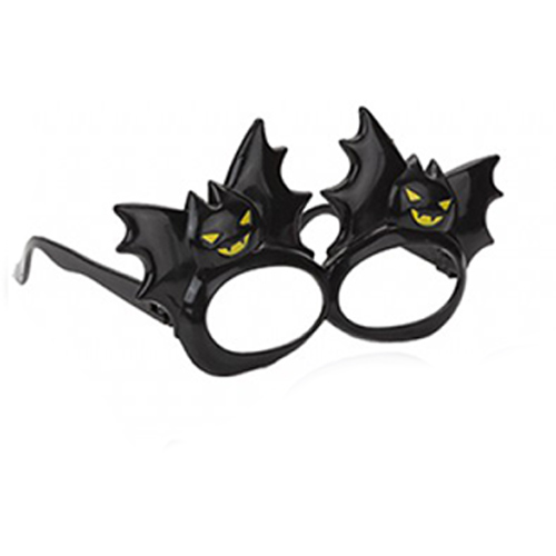 Scary Bat Glasses Halloween Fancy Dress Product Image