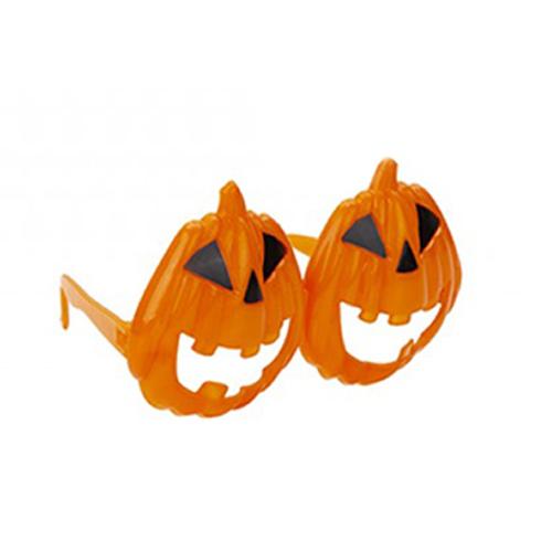 Scary Pumpkin Glasses Halloween Fancy Dress Product Image