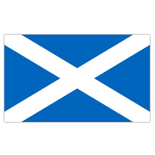 Scotland St. Andrew's Cross Flag 5 x 3 ft