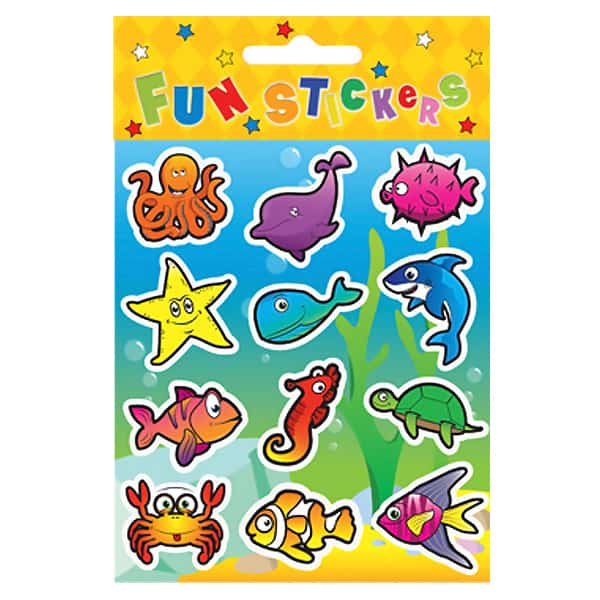 Sealife Sticker Sheet Product Image