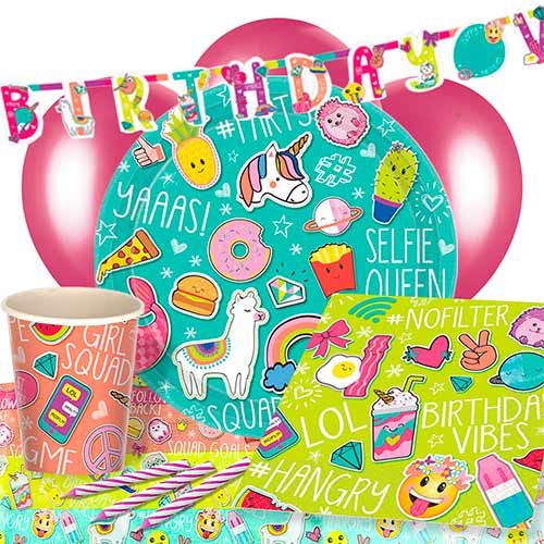 Selfie Celebration 8 Person Deluxe Party Pack