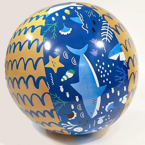 Shark Inflatable Beach Ball 50cm Product Image