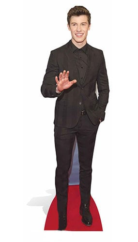 Shawn Mendes Lifesize Cardboard Cutout - 185 cm Product Image