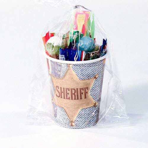 Sheriff Wild West Candy Cup