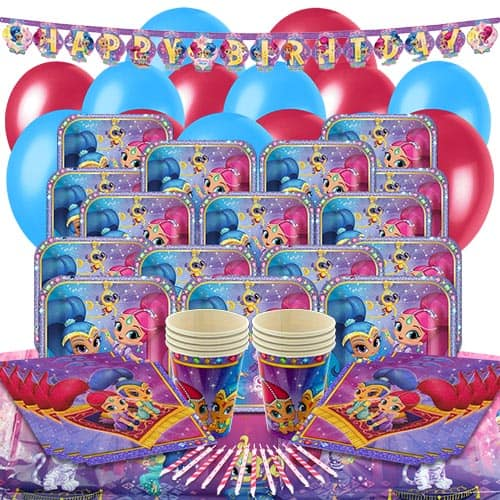 Shimmer And Shine 16 Person Delux Party Pack