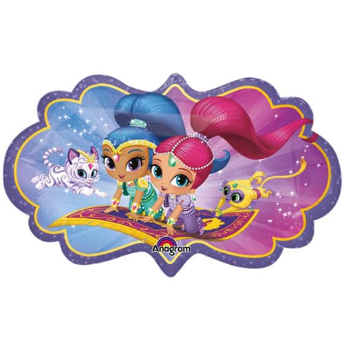 Shimmer And Shine Helium Foil Giant Balloon 68cm / 27 in Product Image