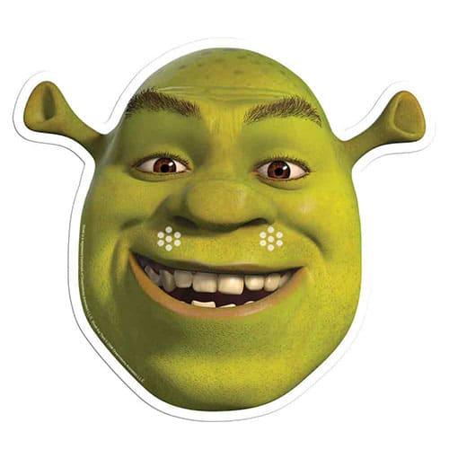 Shrek Cardboard Face Mask Product Image