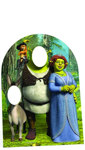 Shrek Stand In Lifesize Cardboard Cutout - 134cm Product Image