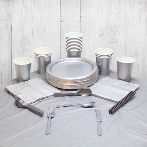 Silver 14 Person Party Pack Product Image