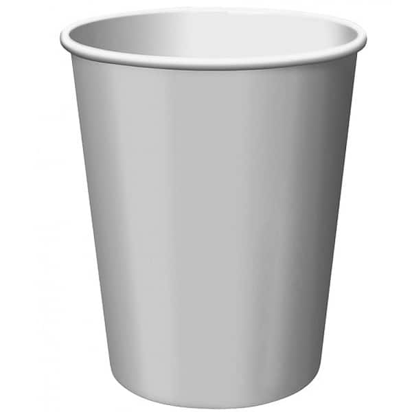 Silver Paper Cups 270ml - Pack of 14 Product Image