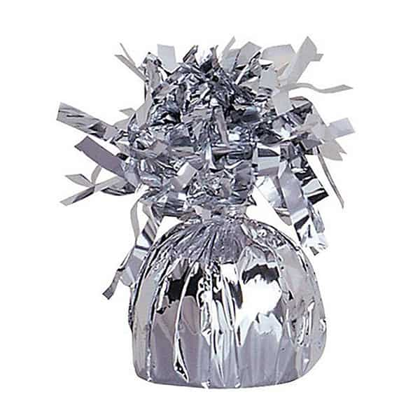 Silver Foil Balloon Weight Bundle Product Image
