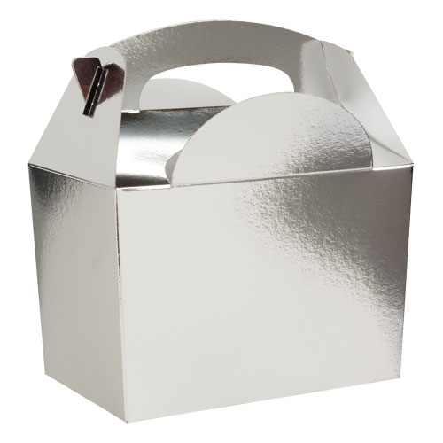 Silver Party Box