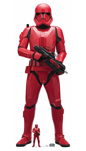 Sith Trooper Star Wars The Rise of Skywalker Lifesize Cardboard Cutout 181cm Product Image