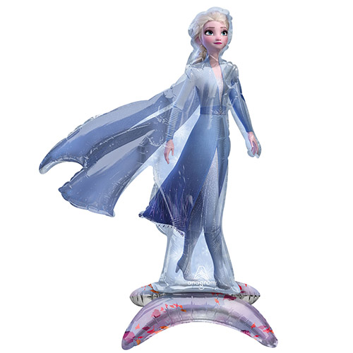 Sitting Frozen 2 Elsa Air Fill Giant Foil Balloon 63cm / 25 in Product Image