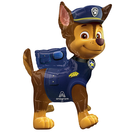 Sitting Paw Patrol Chase Air Fill Giant Foil Balloon 60cm