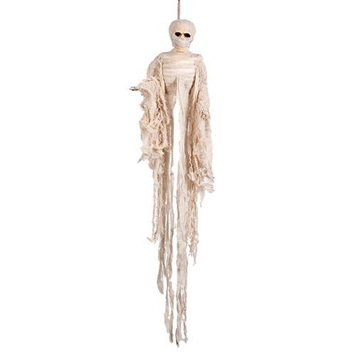Skeleton Mummy Halloween Hanging Prop Decoration 110cm