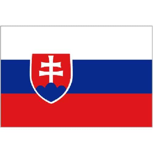 Slovakia Flag - 5 x 3 Ft