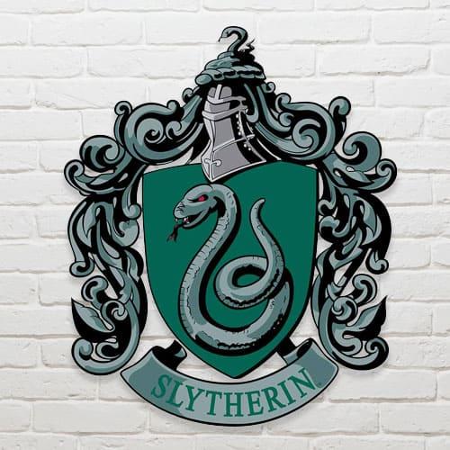 Harry Potter Wizarding World Slytherin Emblem Wall Art Cutout 61cm