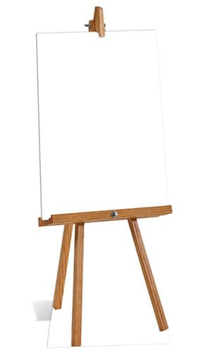 Small blank sign Cardboard Cutout - 151cm